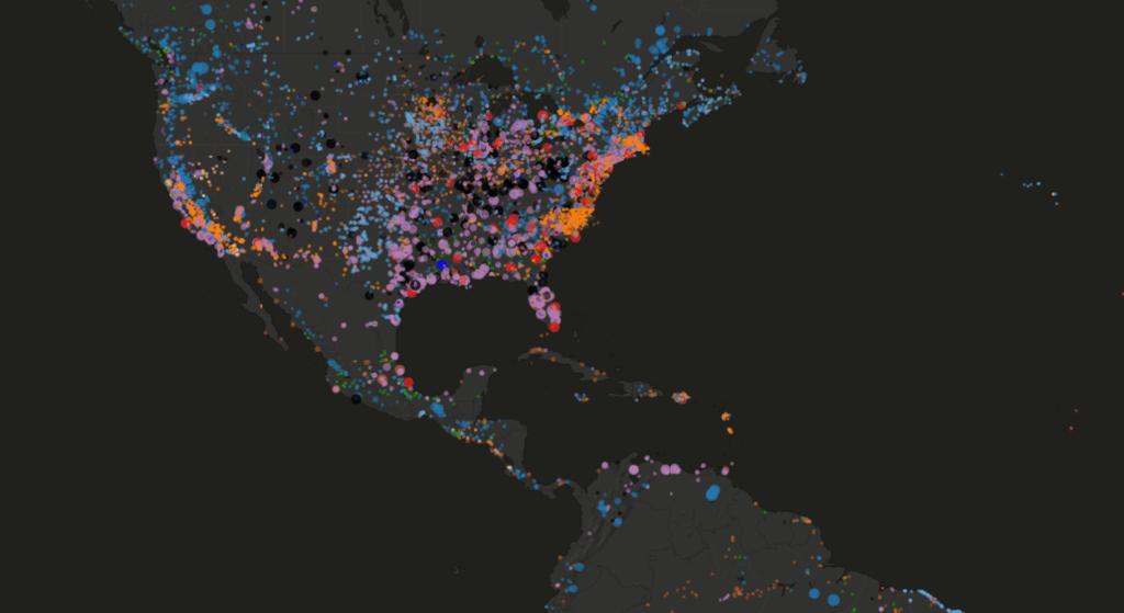 Global power plant database